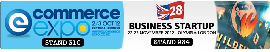 Wildfire Internet Exhibiting at Ecommerce Expo & Business Startup Show, Olympia London